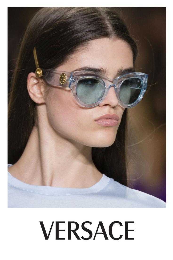 65fe2069d2 Versace Tribute Blue Sunglasses at Designer Eyes