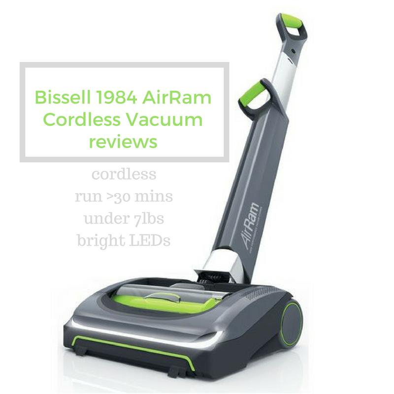 Bissell Air Ram Cordless Vacuum, 1984