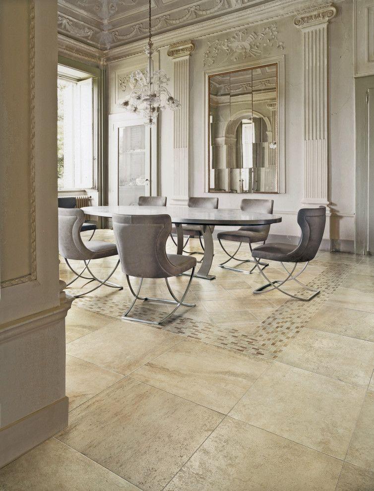 Vallelunga Caracalla Sabbia Travertine Look Tile Available At Ceramo S Stone Tiles Pinterest