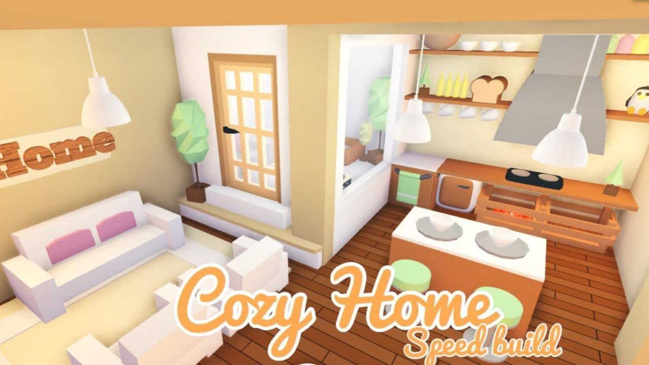 Cozy Tiny Home Roblox Adopt Me Speed Build Youtube In 2020 Home Roblox Cute Room Ideas Unique House Design