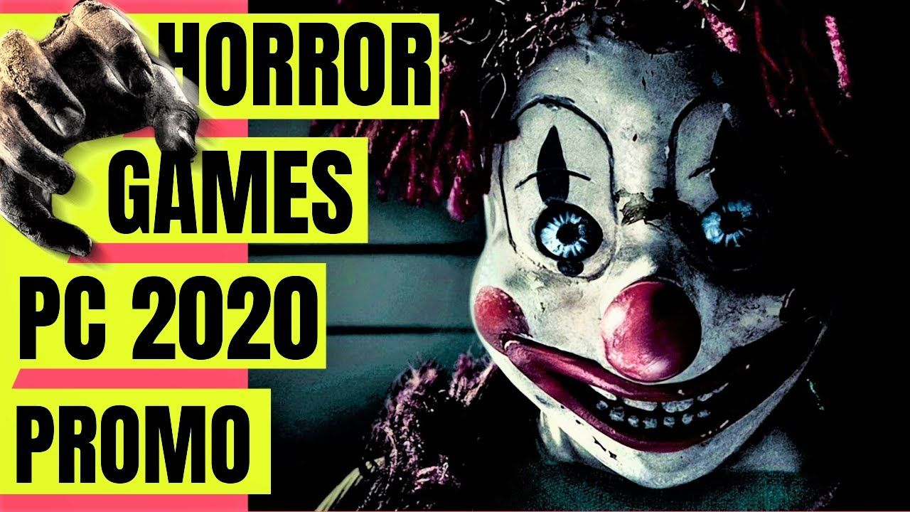 PC HORROR games 2020 promo in 2020 Horror game, Scary
