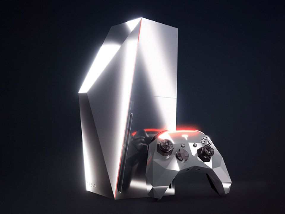 If Tesla Partnered With Microsoft For A Game Console Tesla Xbox One Controller Latest Gadgets