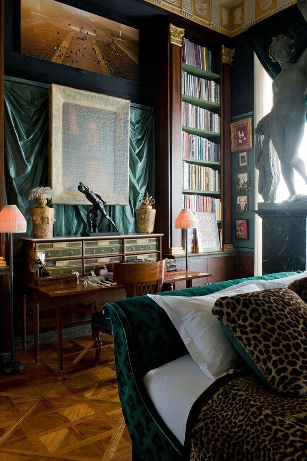 Decorator Jacques Garcia S Apartment Rue De Rivoli Home