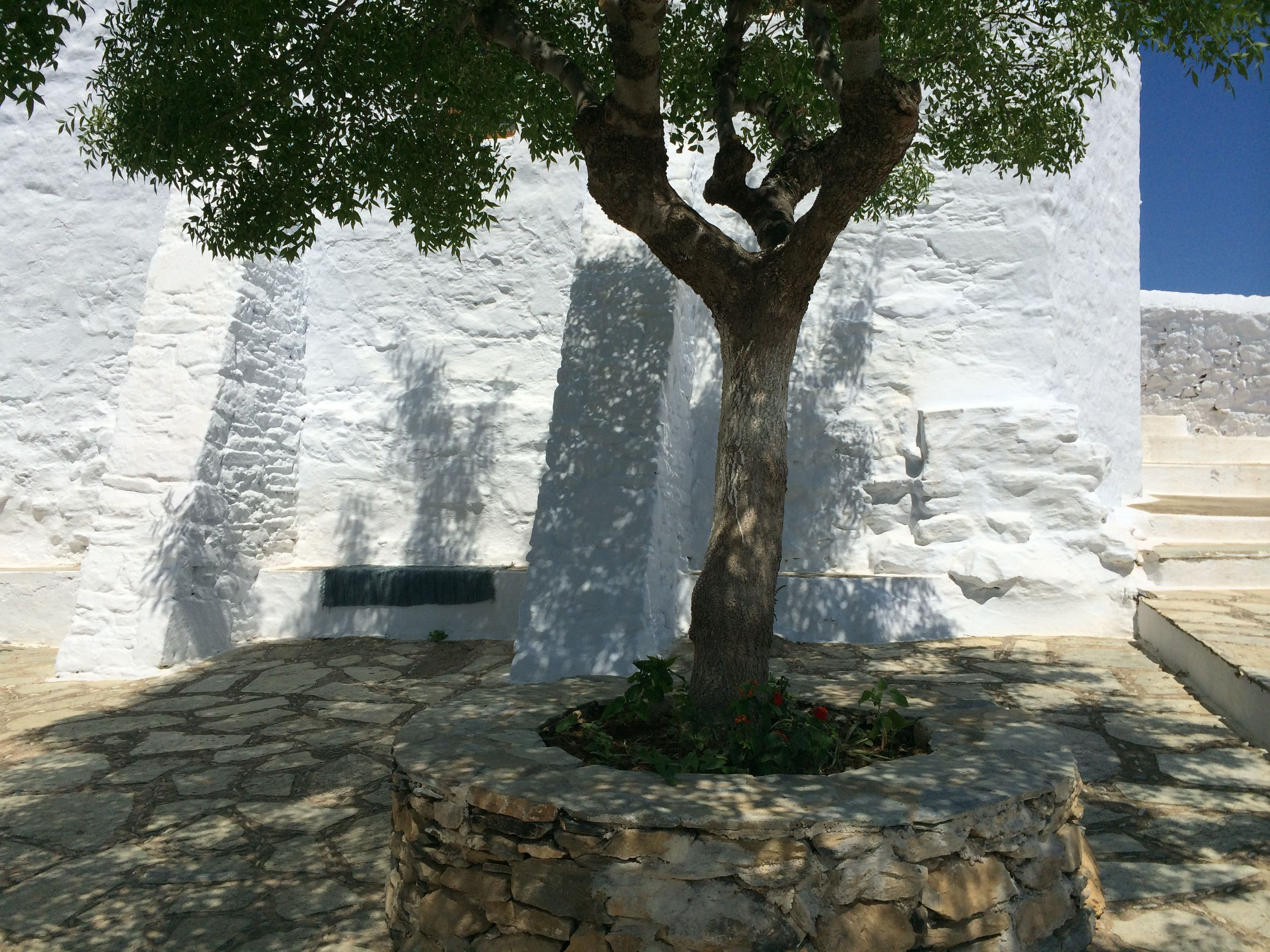 Skopelos, Kastro Nothing's better than a rest in the shadows after a 200 stairs climb from the harbour
