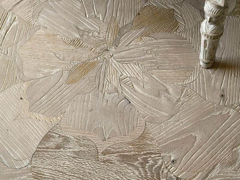 Parkettfußboden ~ Holz parkett fußboden simon mit blumen motiv :: floors pinterest