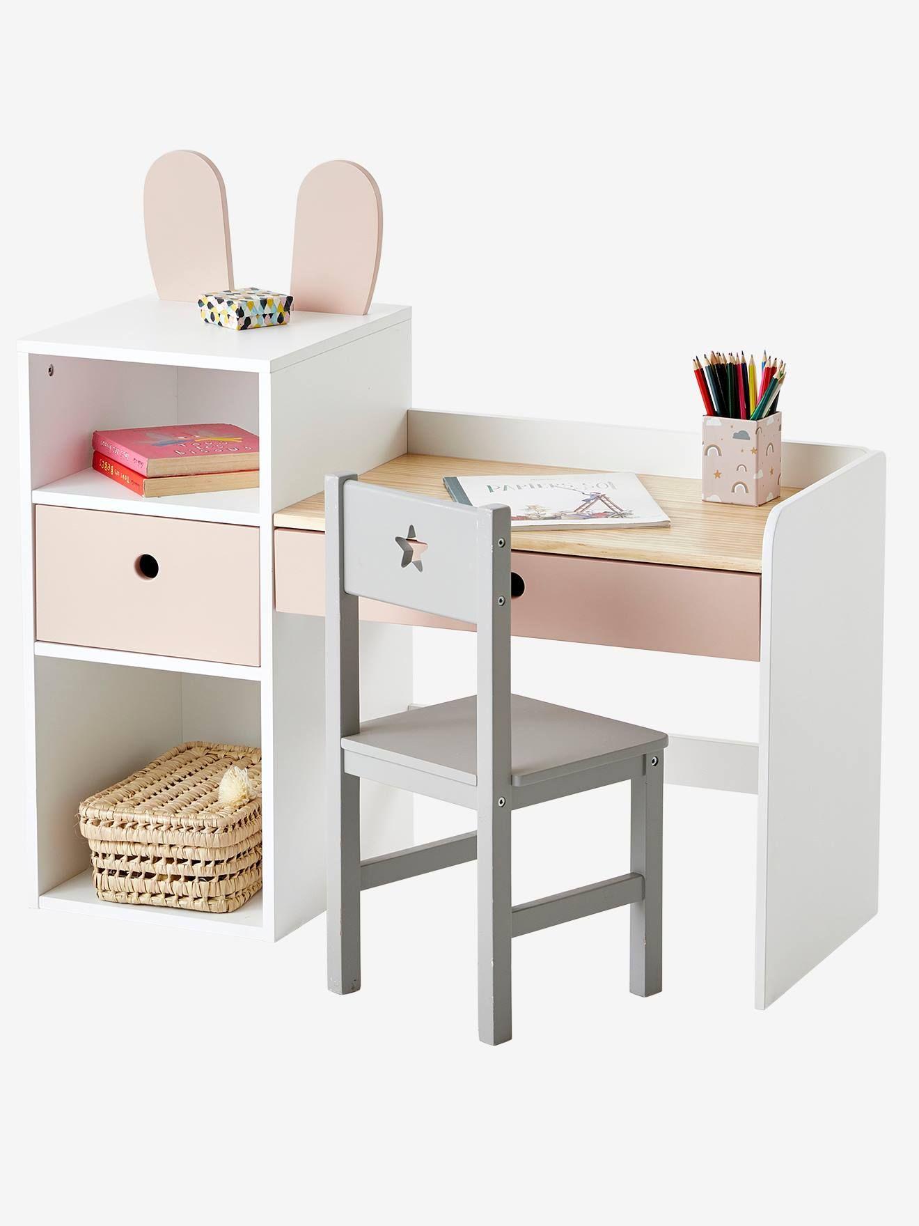 Bureau Maternelle Bunny Small Study Table Room Decor Study Table