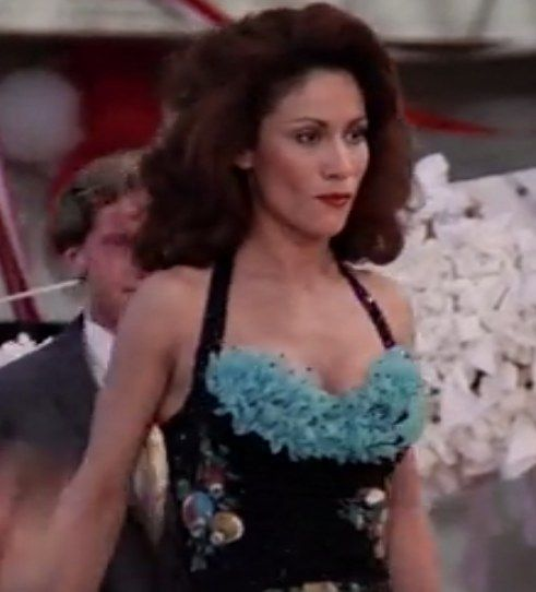 And his date Cha Cha's dress has Christmas ornaments on it. | Grease  hairstyles, Grease movie, Grease musical