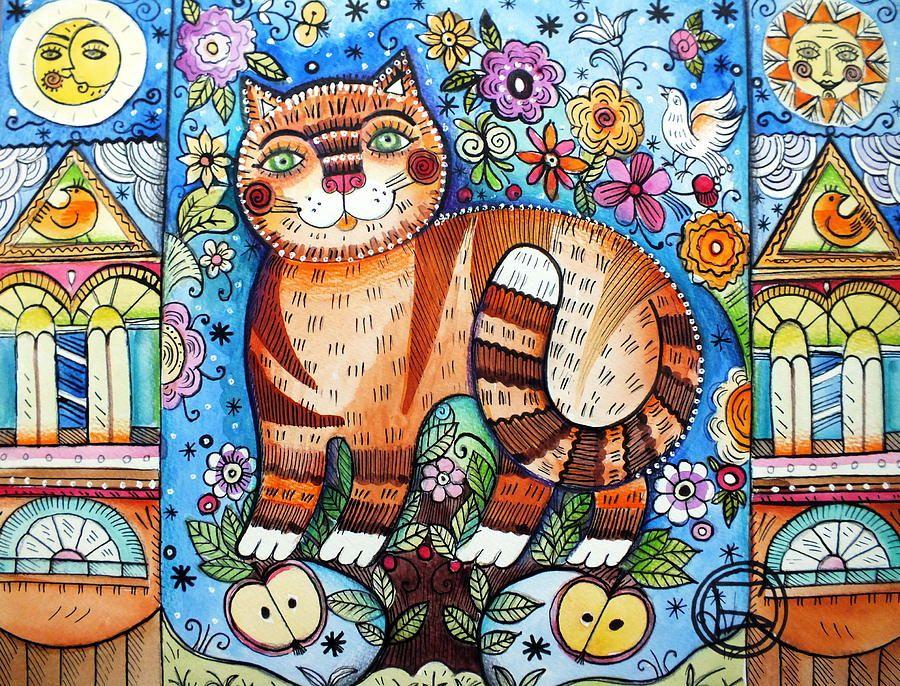 Oxana Zaika 1969年出生於俄羅斯,目前定居於法國。   Oxana 所有的創作都以貓為主題,在貓的身形上作畫, 畫出一個多采多姿的可愛世界,非常別出心裁。   Oxana Zaika was born in 1969 in Russia.Lives and work...