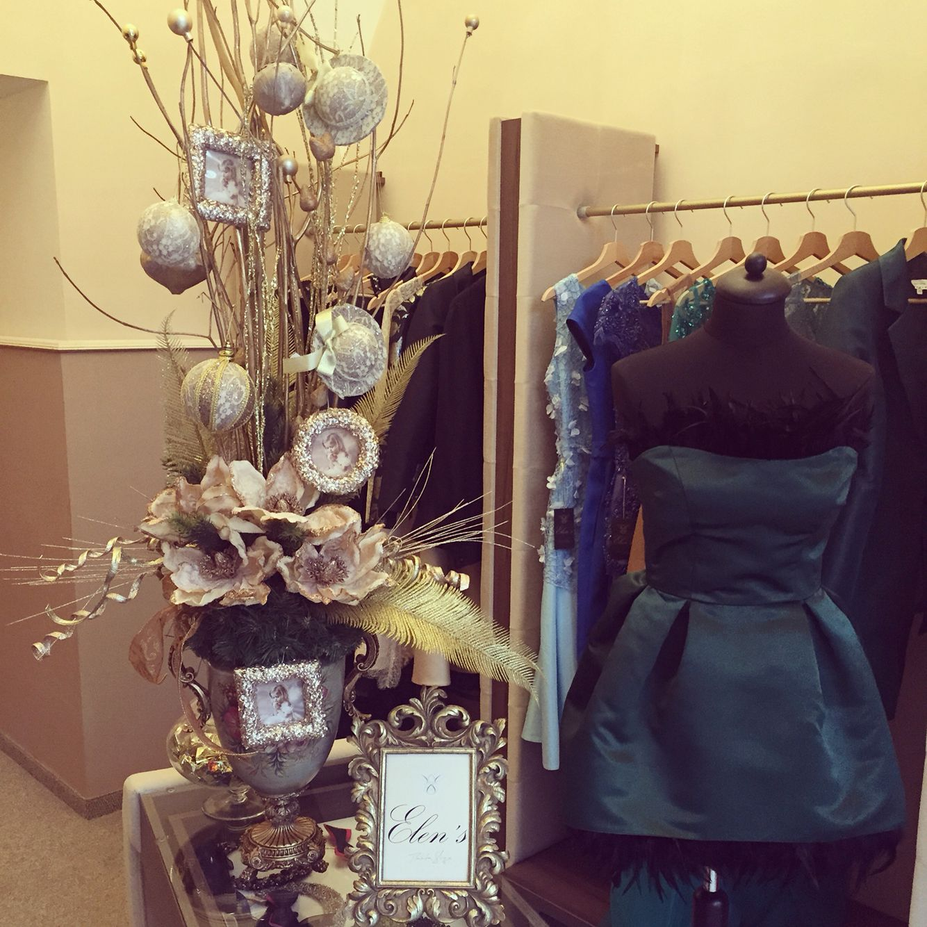 Christmas spirit in Elen'showroom