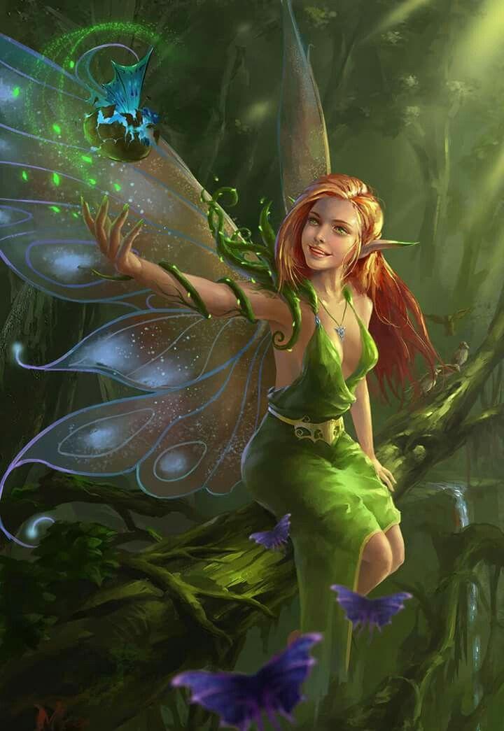 Beautiful fairy. | Fantasie feen, Schöne feen, Elfen fantasy