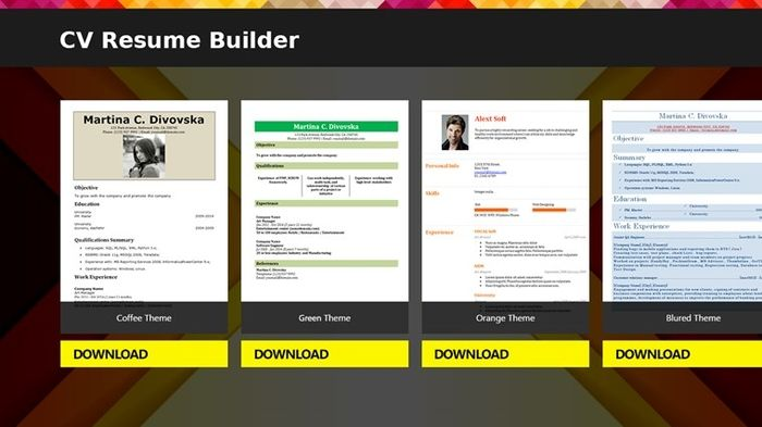 resume builder free download app online skylogic Home Design - resume builder app