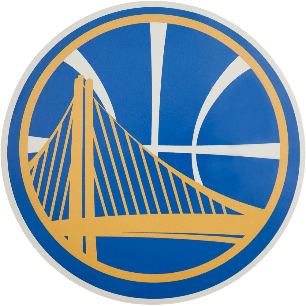 NBA Golden State Warriors Large Outdoor Logo Decal