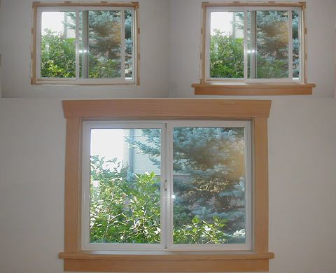 Thinking Of Doing A Trim Like This Around The Exterior Windows Instead Of  Shutters.