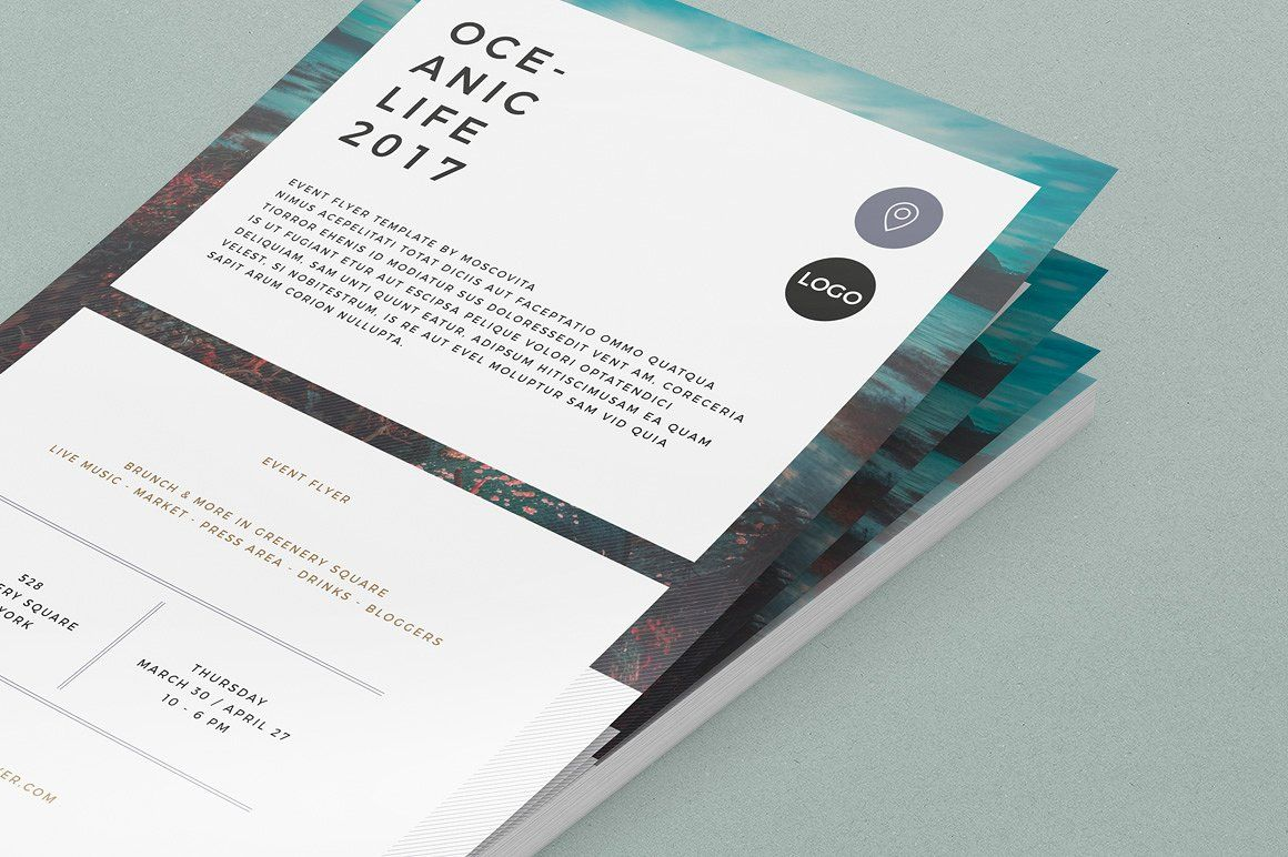 Event Flyer by Moscovita on @creativemarket | Everythingg | Pinterest