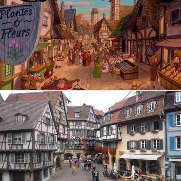 Alsacia es una pintoresca región al noroeste de Francia, de arquitectura pastoral, que serviría de e... - ELLE.es