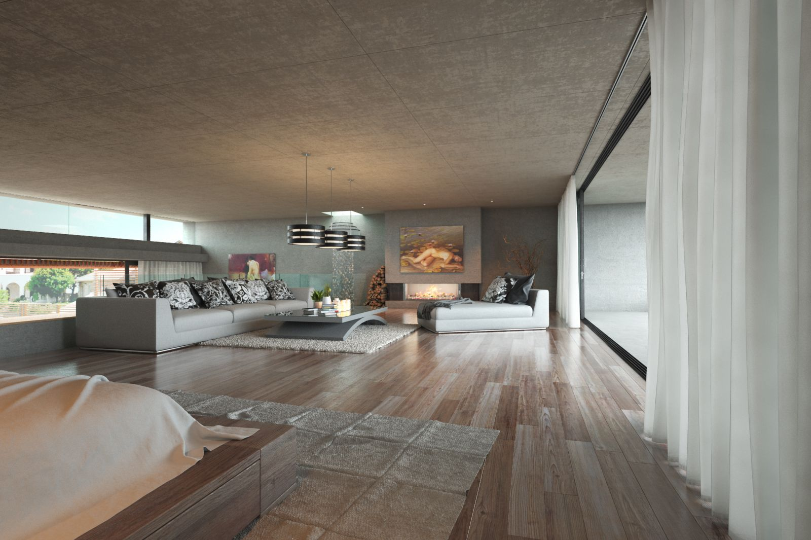 3D Max, VRay, MarvelousDesigner , PS Design, Flooring