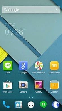 Download Tema Android Lollipop Pada Os Ics Jellybean Dan Kitkat Aplikasi