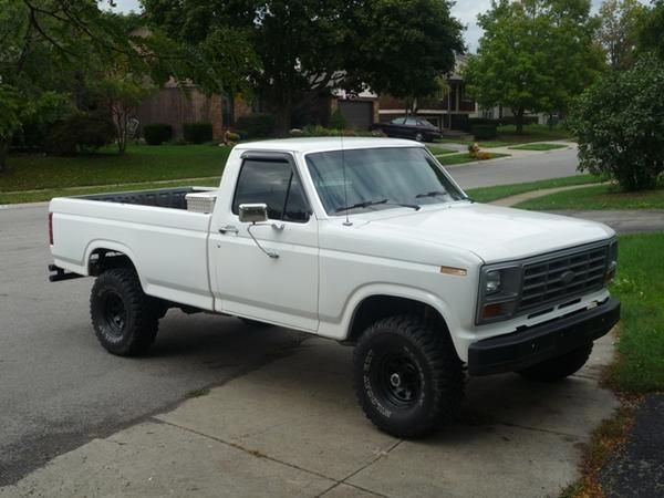 80 F150 Ford Truck I Was Still In My Truck Phase My Buddy