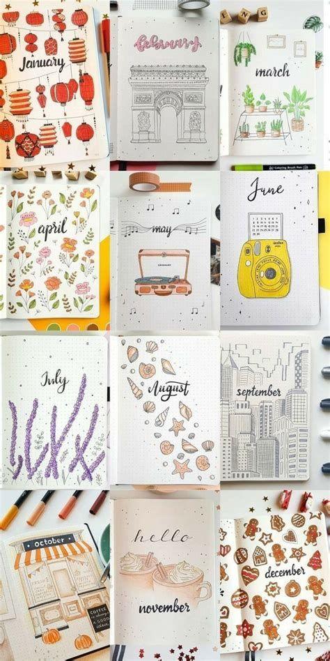 Bullet Journal! | Bullet Journal Lettering Ideas, Bullet
