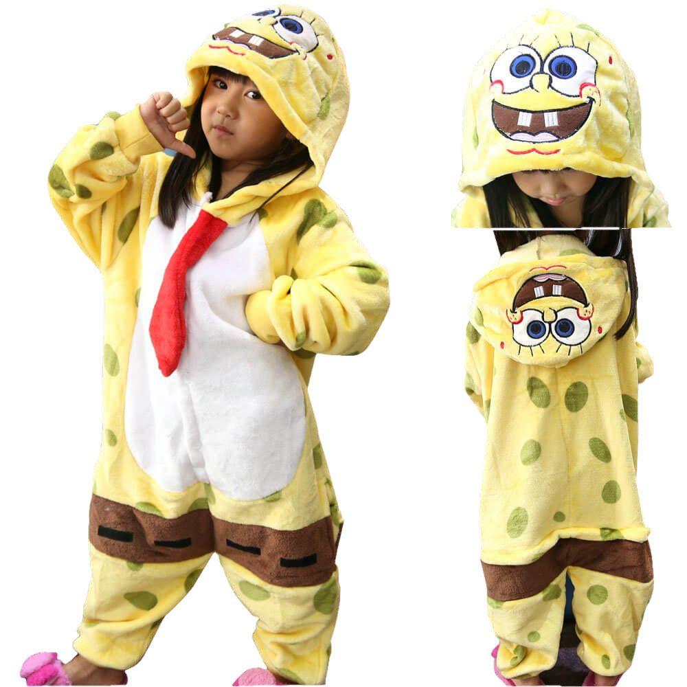 PajamasBuy - Kids SpongeBob SquarePants Kigurumi Onesies Pajama ...