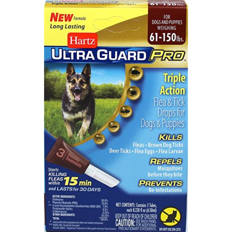 Hz Ugpro Ft Drps Dg 60lbs Size 22z Hartz Ultraguard Pro Flea Tick Drops Dogs Puppies 60 Lbs 2 Flea And Tick Brown Dog Tick Flea Treatment For Puppies