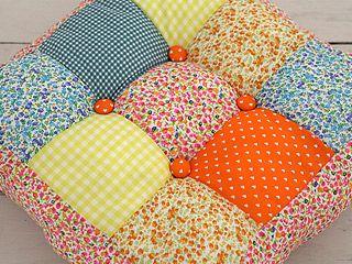 Almohadon cuadrados otra debilidad almohadones - Como hacer almohadones ...