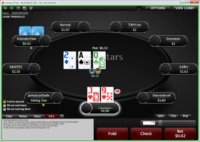 pokerstars ошибка при обновлении
