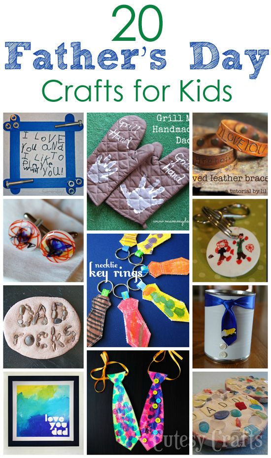 20 Father's Day Crafts for Kids | Share Your Craft | Kids