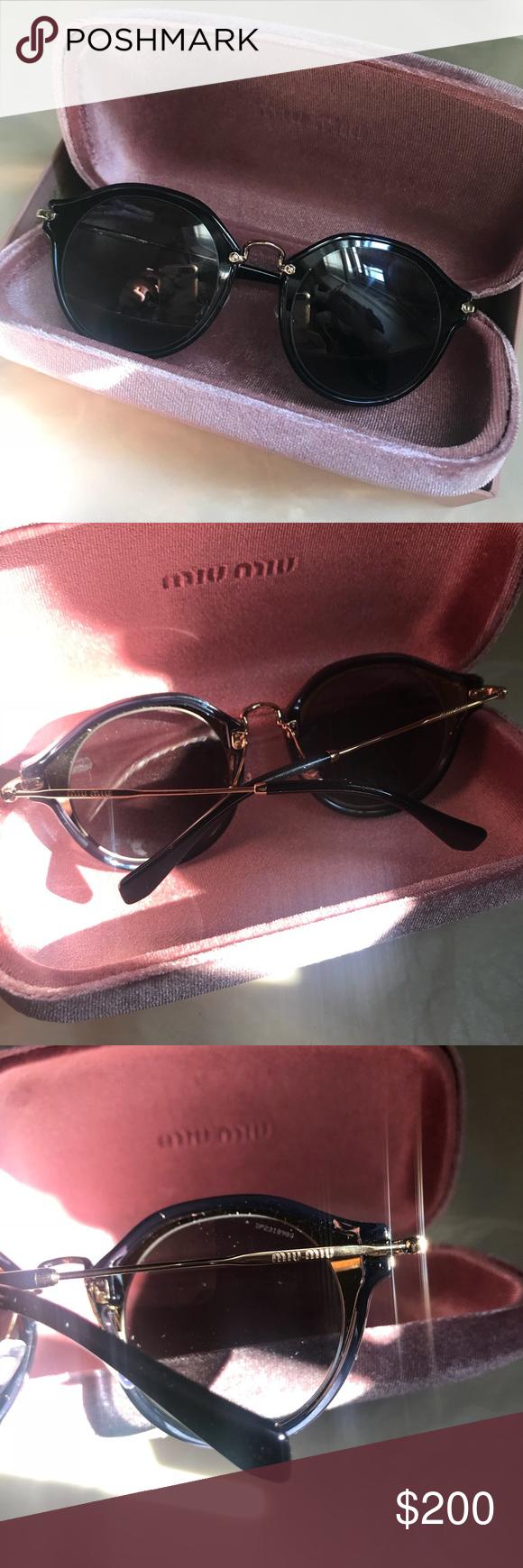 2e984af01fcb9 Miu Miu Women s Sunglasses MU51SS 49mm Worn twice