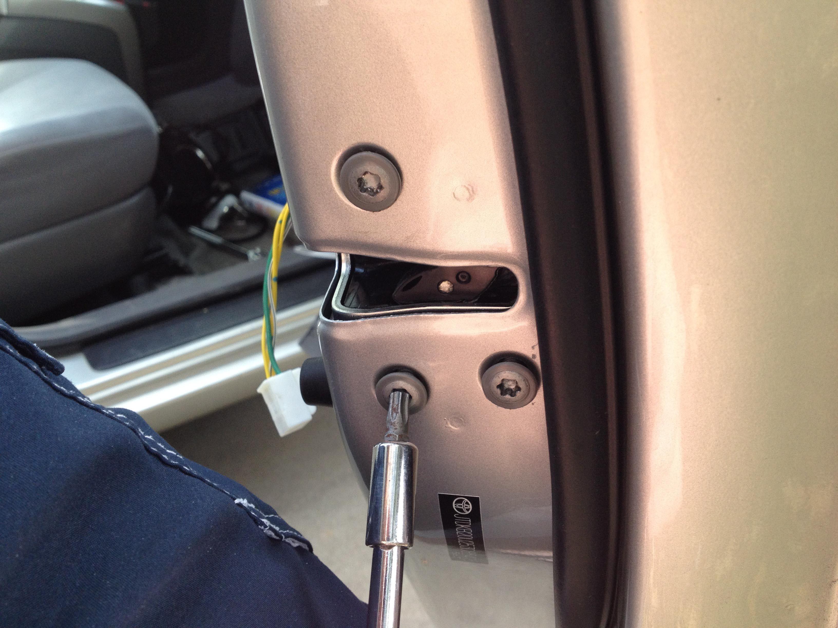 Fixed Door Lock Actuator In Gen Ii Prius Door Locks Door Handles Prius