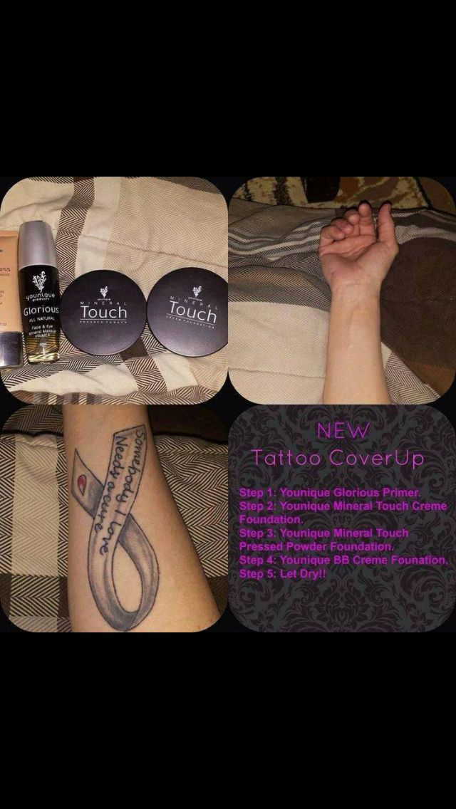 Can your foundation cover up?