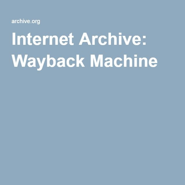 Internet Archive Wayback Machine internet Pinterest Wayback - normal lab values chart template