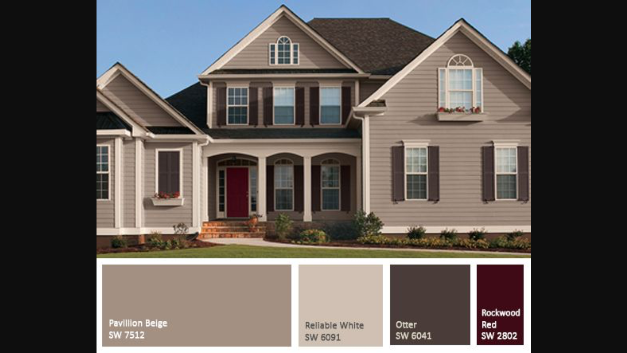 Pingl par nancy schaffer trupe sur exterior house colors pinterest for Sherwin williams homestead brown exterior