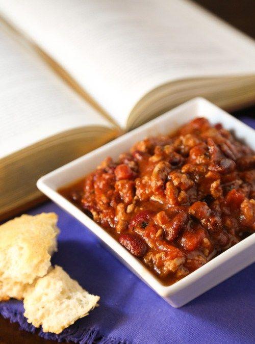 Photo of Crockpot Turkey Chili | www.sweetteasweet…