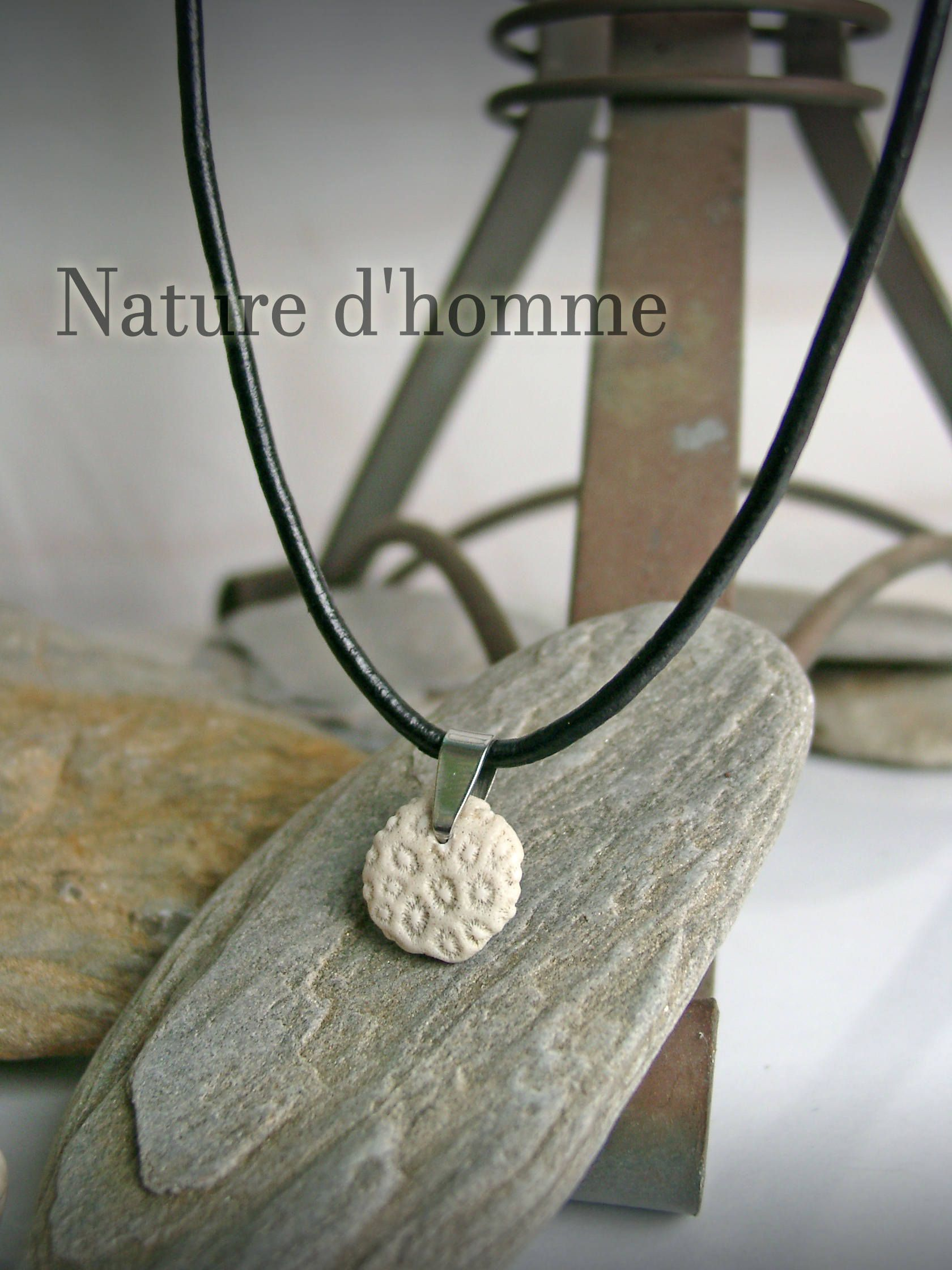 collier nature homme