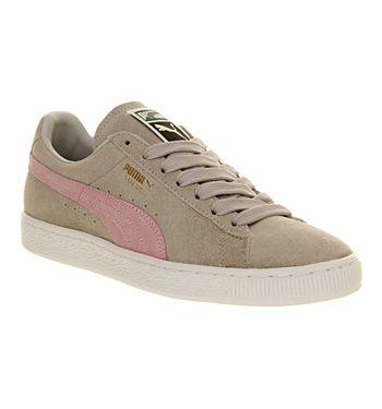 Puma Suede Classic Grey Violet Pink