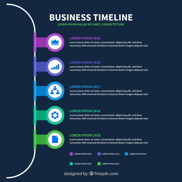 Download Infographic Timeline Template For Free