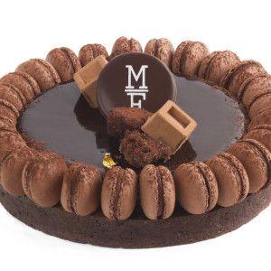 트리플 초콜릿 마카롱 타르트