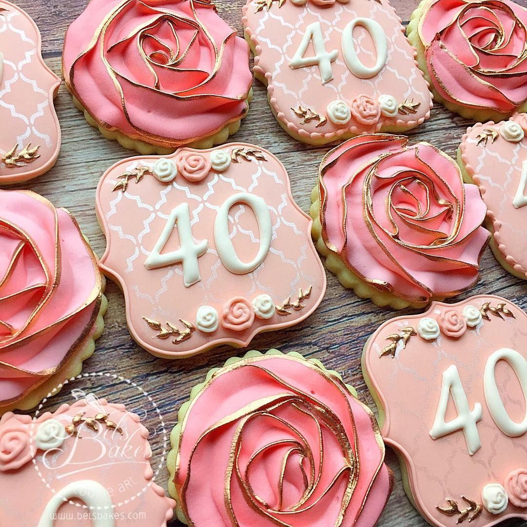 "Belinda (Bel's Bakes) On Instagram: ""Happy 40th Birthday"