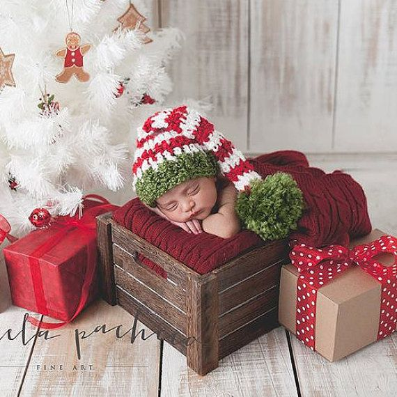 00a3b3edc SALE Baby Boy Hat Crochet Newborn Baby Girl Or Boy Christmas ...
