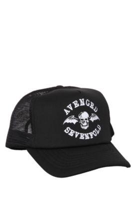 8ff3b8becd908 Avenged Sevenfold Snapback Trucker Hat Avenged Sevenfold