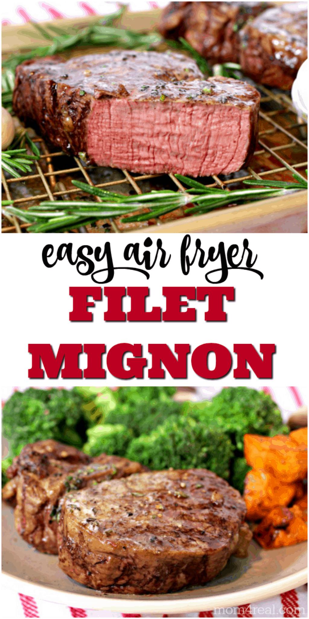 Air Fryer Filet Mignon That Tastes Like Upscale Restaurant Steak Recipe Air Fryer Recipes Healthy Air Fryer Dinner Recipes Air Fryer Recipes Breakfast