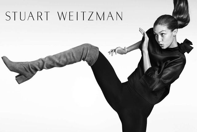 Gigi Hadid  Photoshoot for Stuart Weitzman FallWinter June-2016  actress Gigi Hadid