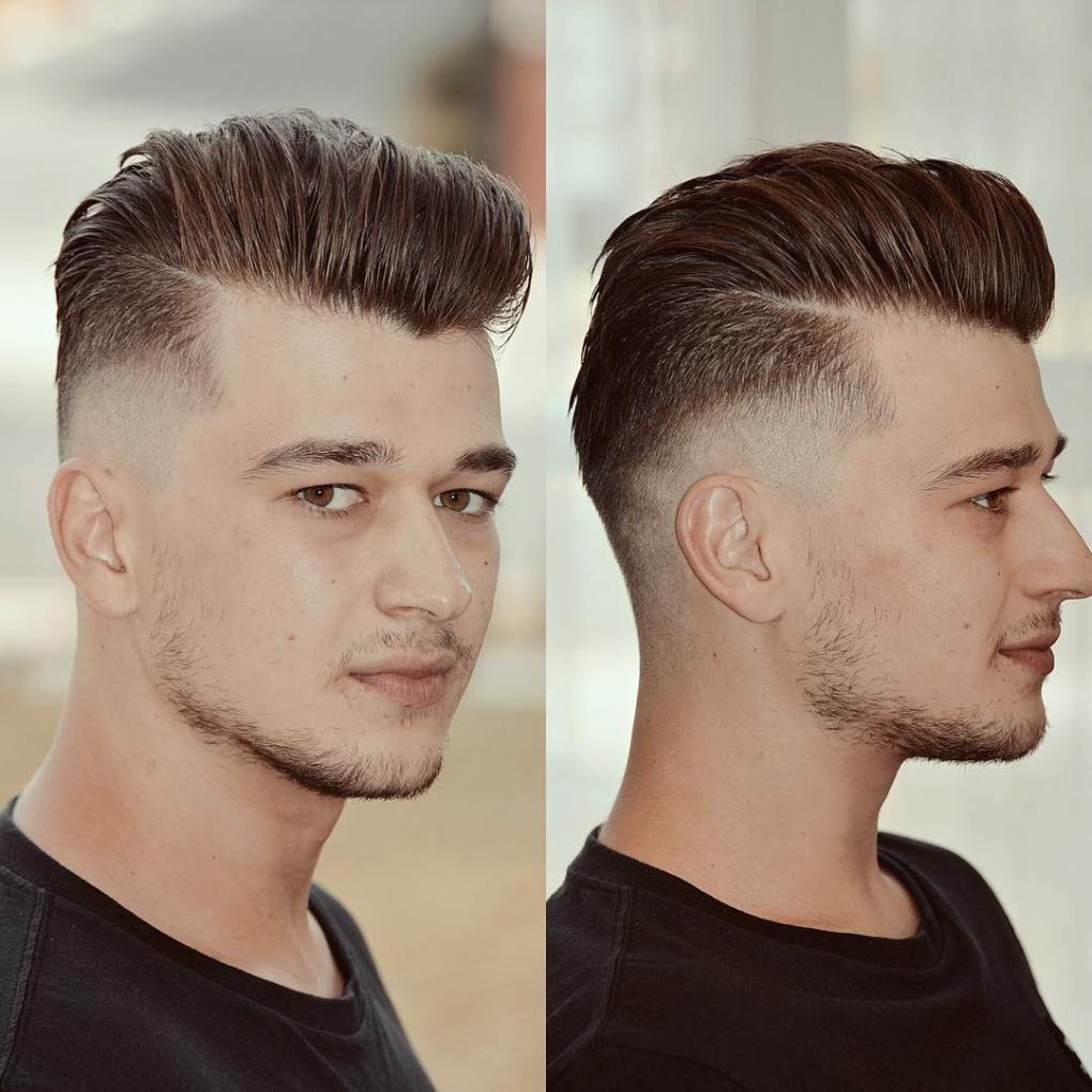 Mens fade haircuts  classy haircuts and hairstyles for balding men  burst fade fade