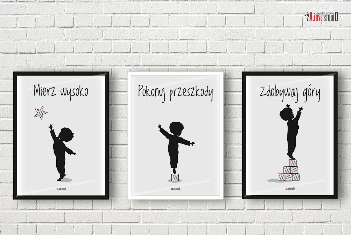 Plakaty Do Pokoju Chłopca Motywacyjne Alovestudio Blog