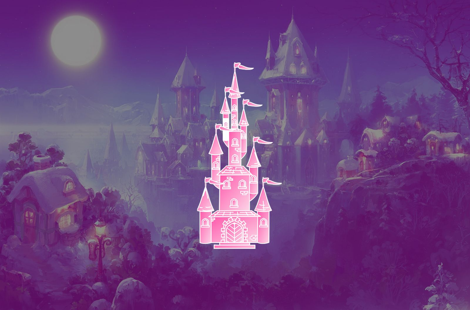 Pink Fairytale Princess Castle Wallpaper Princess Castle Fairy Tales Wallpaper