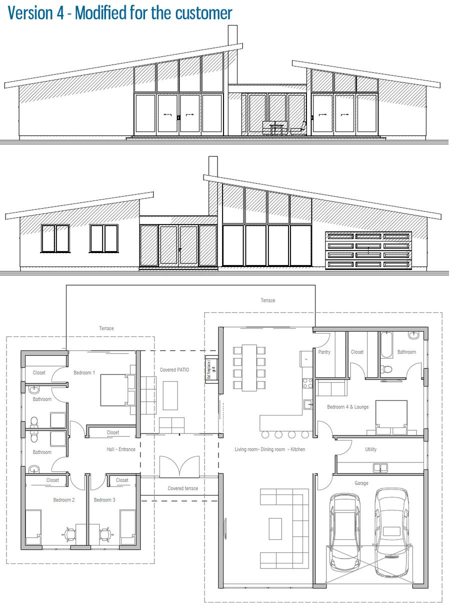 Modified Architectural Design Customer Home Modern House
