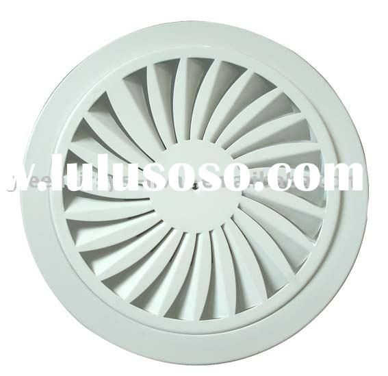 Circular Round Air Diffuser Hvac Outlet Grille