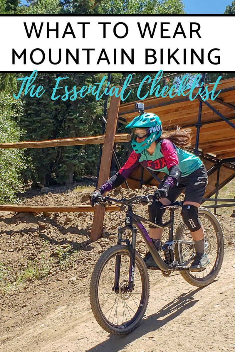 2c602ee0c8a The essential checklist of what you need to wear for any mountain bike  ride! Essential gear - Mountain Biking - Lady Mountain Bikers
