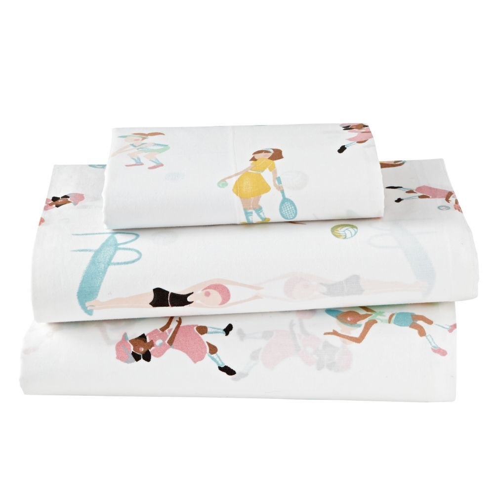 These kids sheets look so good, it's a shame they are hidden underneath the…
